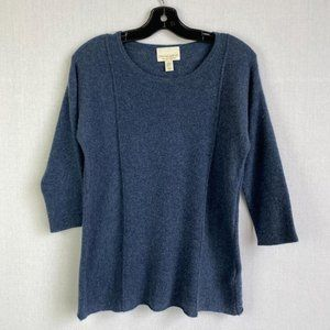 CYNTHIA ROWLEY 100% Cashmere Sweater